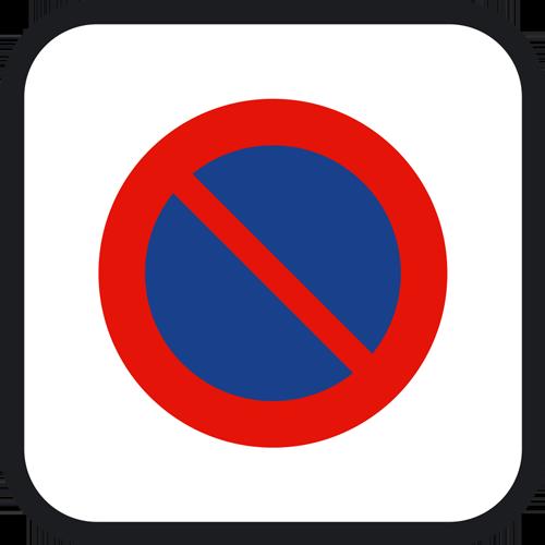 Señal vertical reglamentaria de estacionamiento limitado